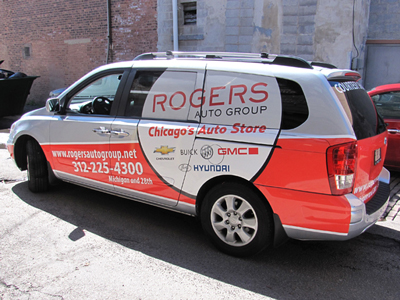 Vehicle Wrap Rogers-side-view