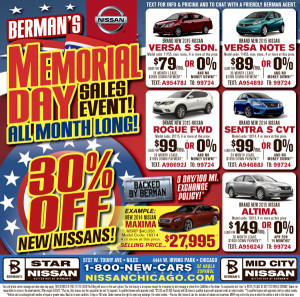 Automotive Newspaper Ad