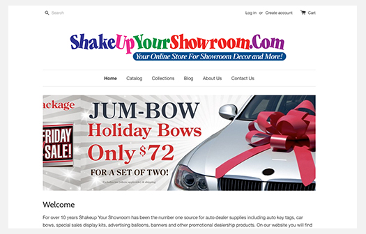 Shake Up Your Showroom