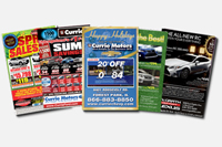 Automotive Print Ads