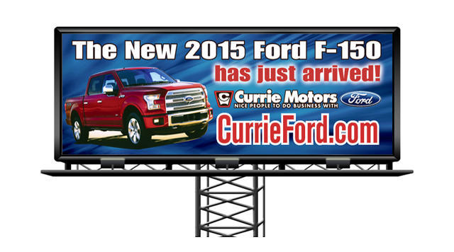 Currie Ford Billboard