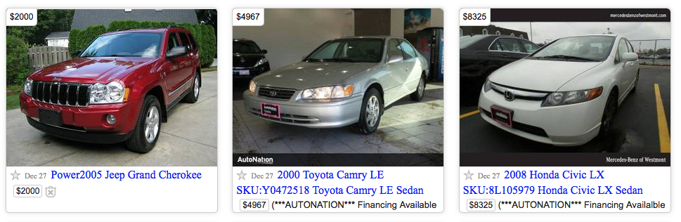 Craigslist for Auto dealers