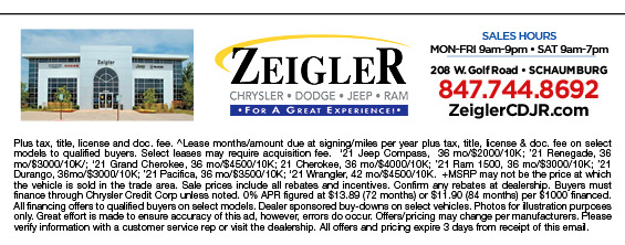 Our Lineup is in a League of Its Own | Zeigler CDJR | Schaumburg Illinois