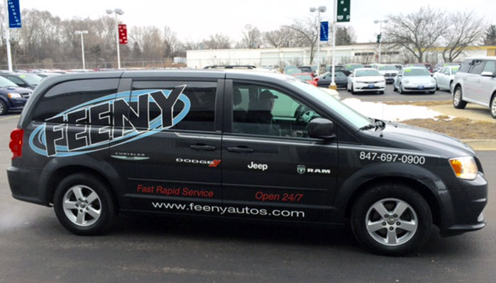 Vehicle Wrap Feeny