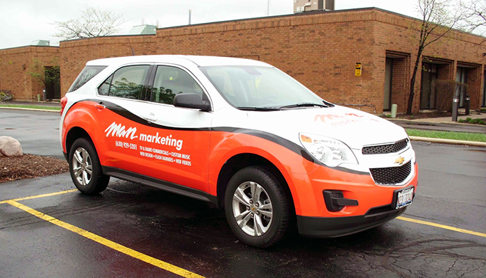 Vehicle Wrap MAN Marketing
