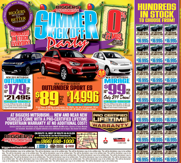 Automotive Newspaper Advertising