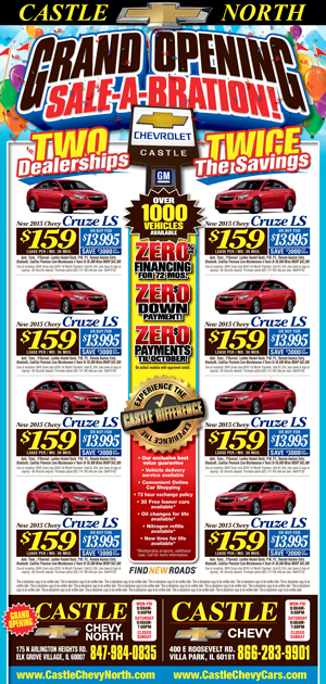 CastleChevy Newspaper ad