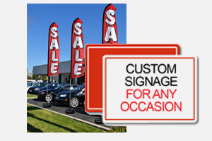 creative signs for car dealers