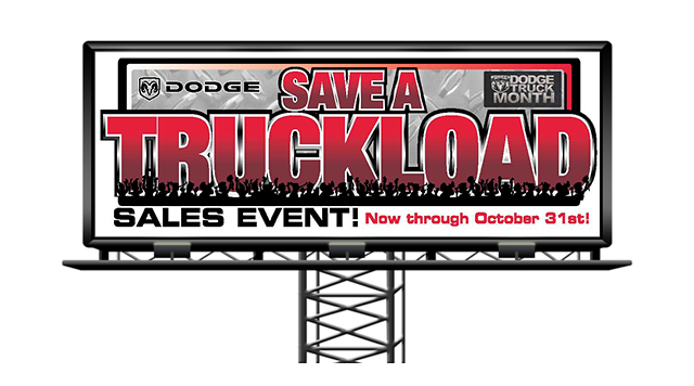 dodge-truckload Billboard