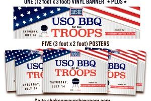 Support Our Troops With Shake Up Your Showroom