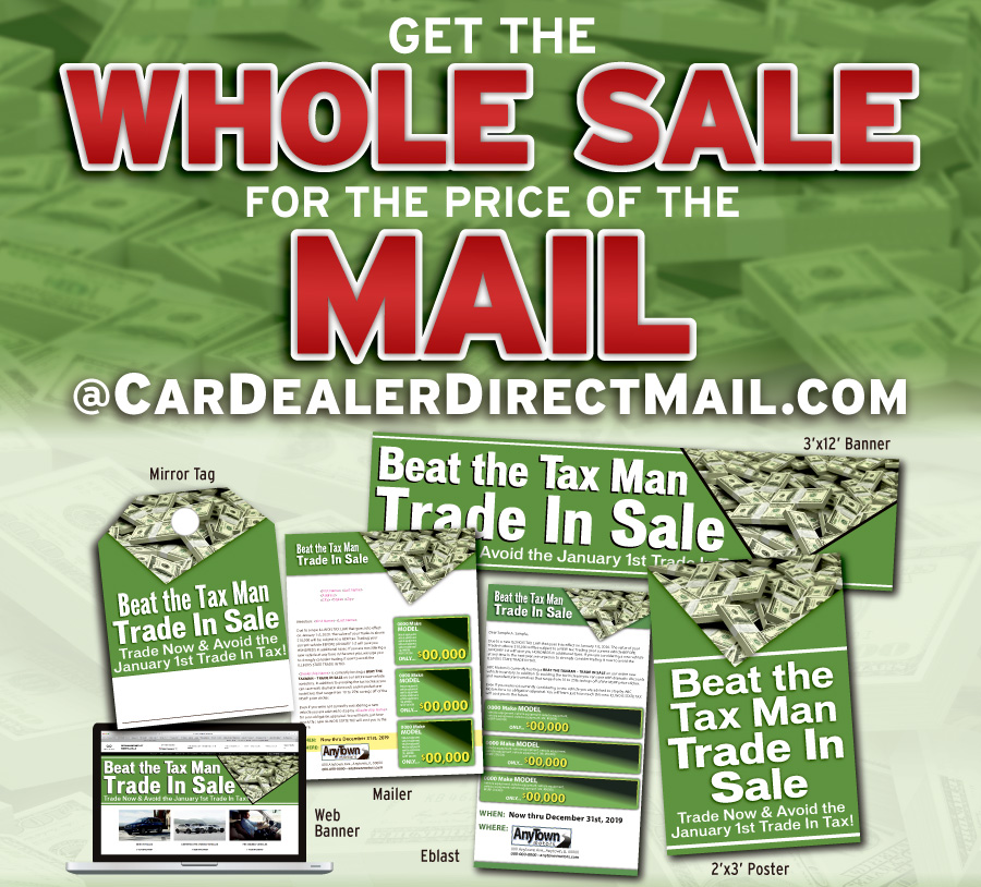 Beat The Taxman Trade In Event Wholesale For Price Of Mail M A N Marketing Inc
